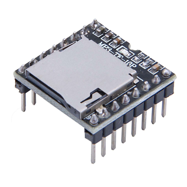 DFPlayer мини mp3-плеер модуль для Arduino черный