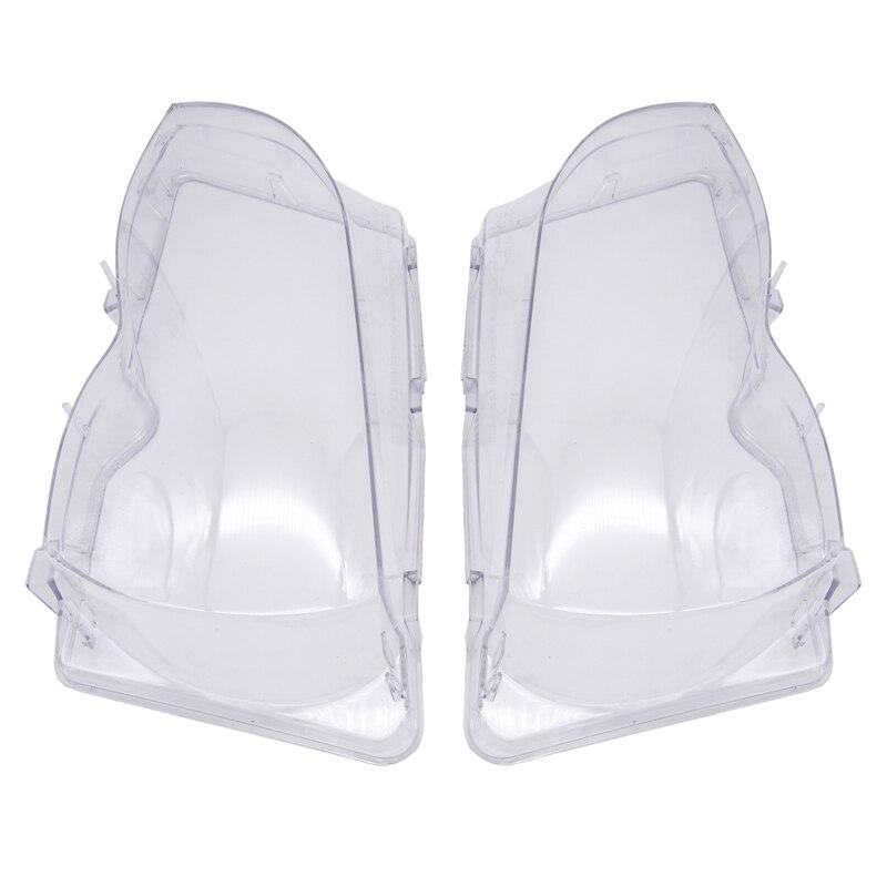 Couvercle en verre de phare de voiture   Transparent, lentille de phare de voiture, produits automobiles pour BMW E46 3-séries 2002-2006