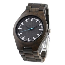Dropshipping 고품질 수제 주문을 받아서 만들어진 로고 석영 대나무 나무로되는 손목 시계