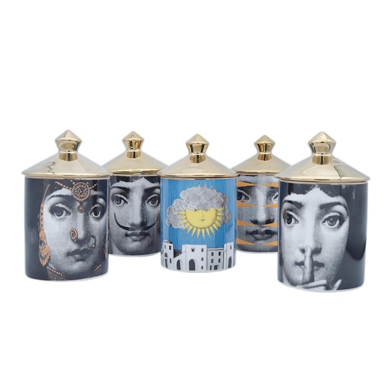 Italian luxury Lina Cavalieri Jar Italy Candle Holder Milan Collection Jar T&V Jar Decorative Jar Decoration Milan Candle Holder