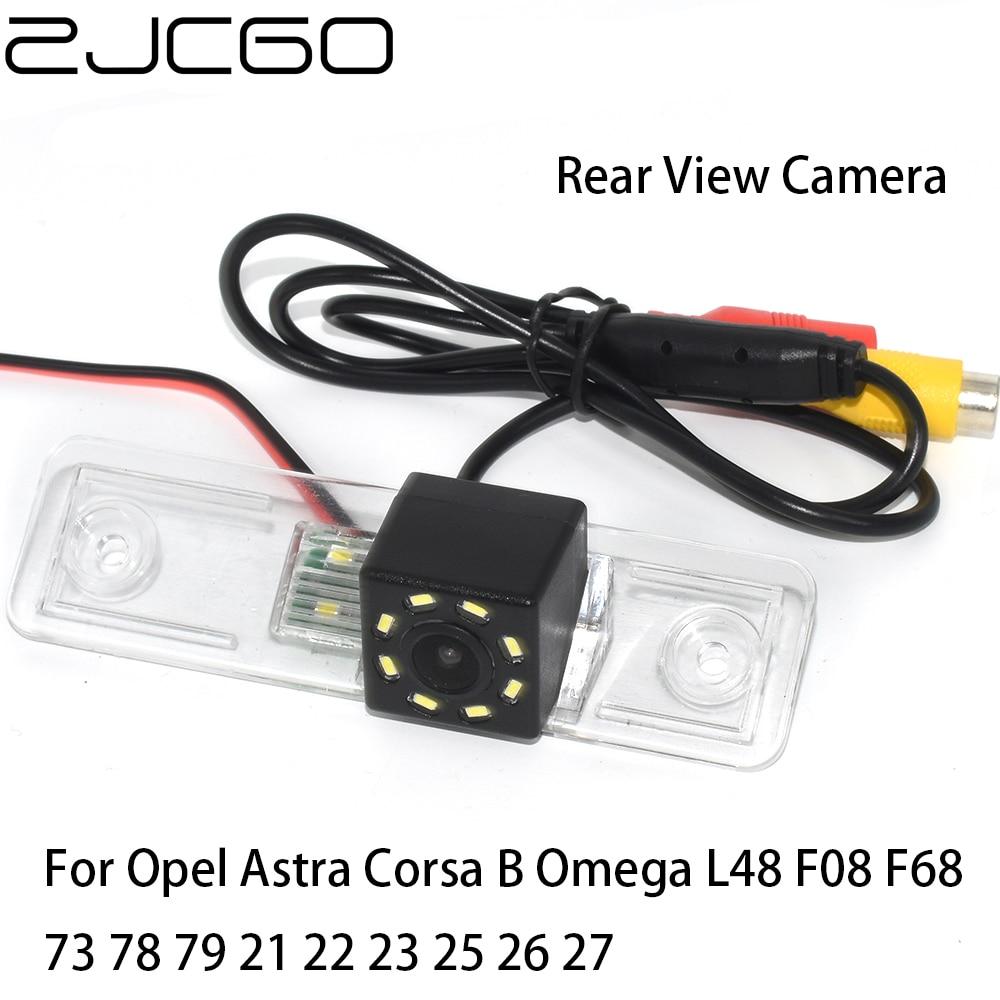 ZJCGO CCD HD coche vista trasera inversa a cámara de estacionamiento para Opel Astra Corsa B Omega L48 F08 F68 73 78 79 21 22 23 25 26 27