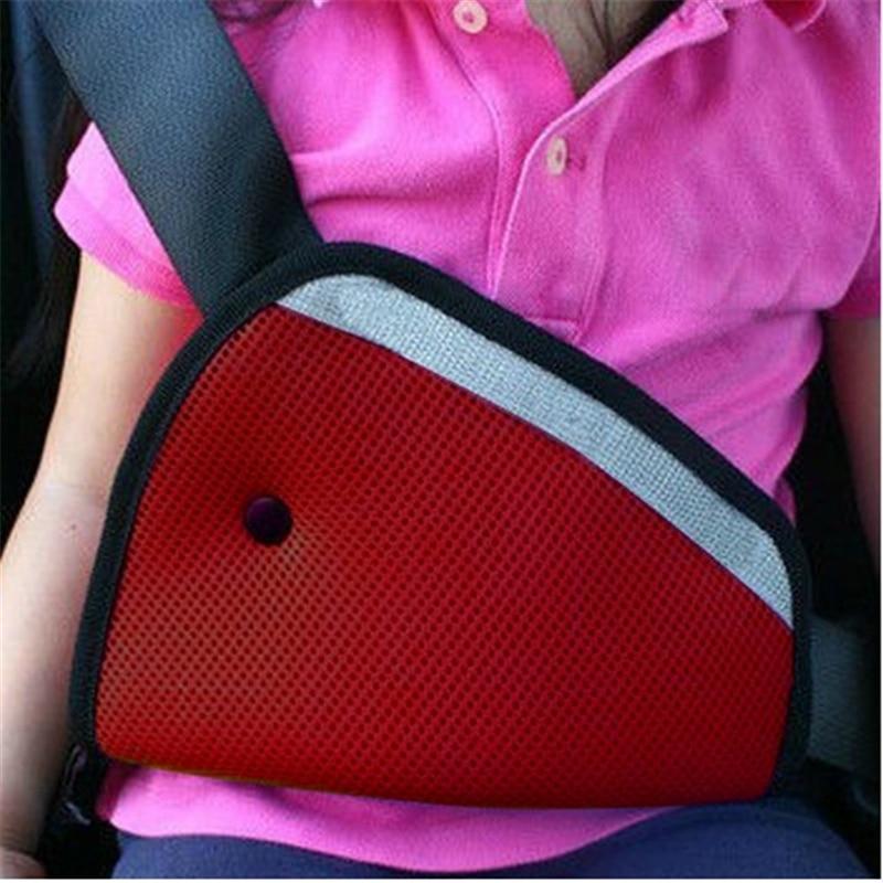 Ajuste del acolchado del cinturón de seguridad del coche para los niños protección del coche del bebé del chico ajuste seguro almohadilla suave cubierta de la correa accesorios del coche chico
