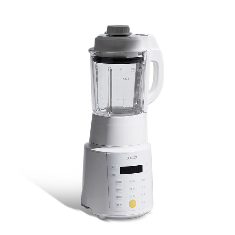SOLISTA L18-F1 1.75L 900 واط متعددة الوظائف التدفئة خلاط طعام ماكينة صنع عصير الفاكهة المنزل التدفئة التلقائي الصويا خلاط لبن