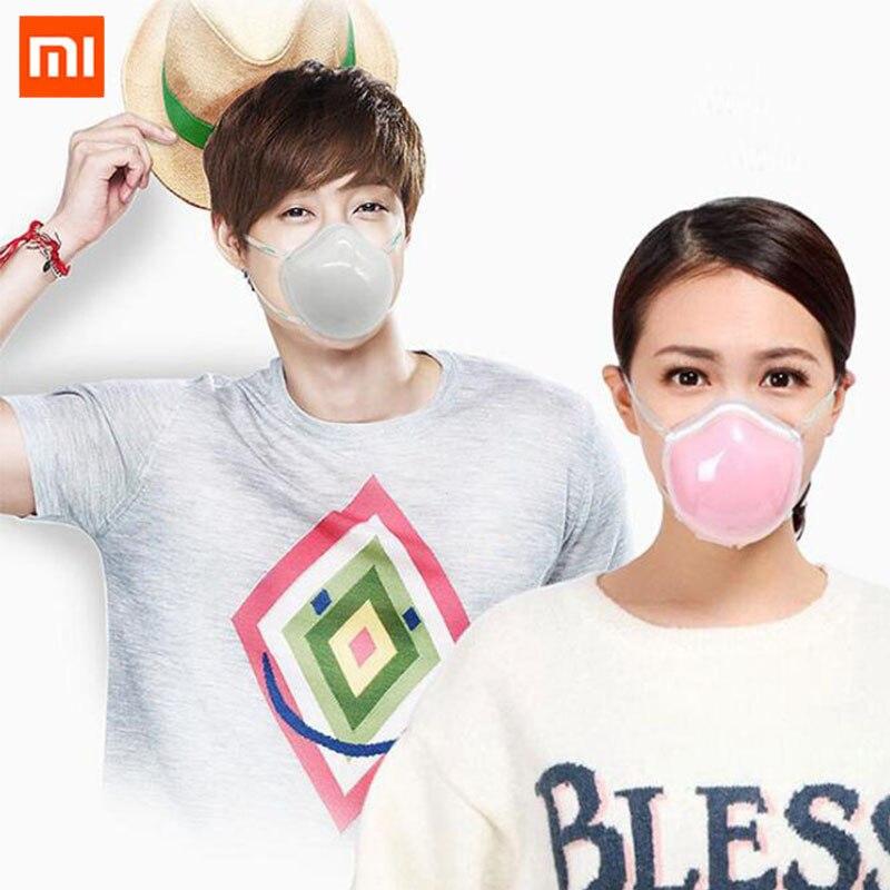 ¡Novedad de 2020! Mascarilla eléctrica anti neblina para suministro de aire eléctrico antiahogo Xiaomi Q7 adecuada para viajes diarios
