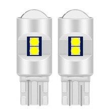 2PCS T10 W5W 168 2825 Hohe Qualität Super Helle 3030 LED Keil Auto Innen Lesen Dome Lampen Marker Lichter auto Parkplatz Bulbs