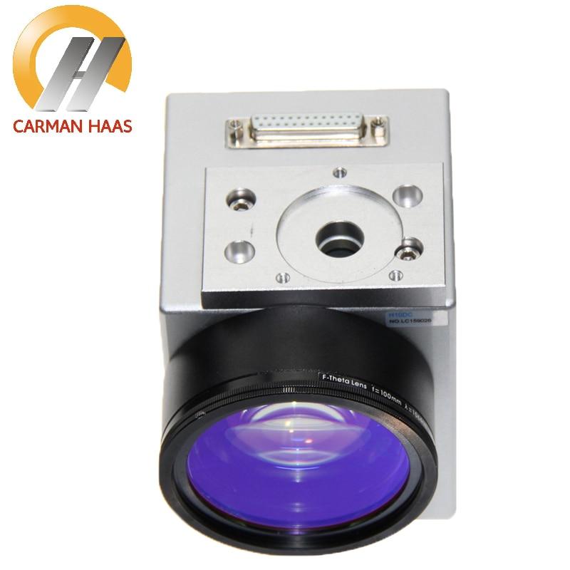 1064nm Galvo Scanner Economic Digital Fiber Laser Scanning Galvo Head 10mm Galvanometer Scanner with Power Supply Set