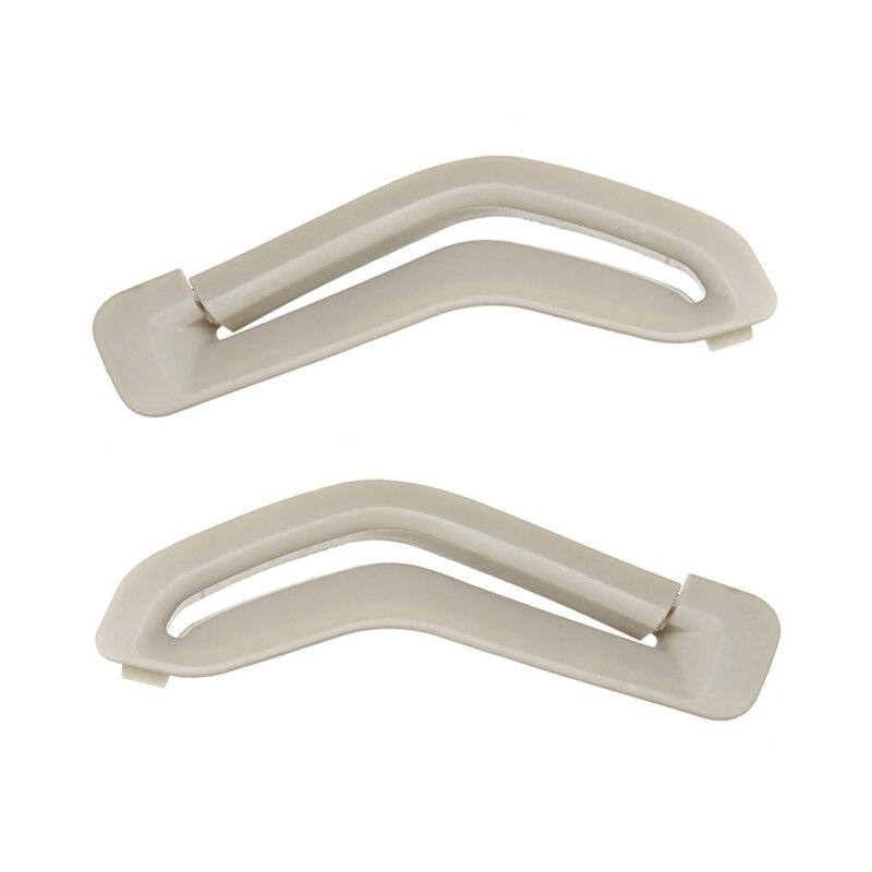 Per Volvo S60 S80 V70 XC90 anello guida divaricatore cintura di sicurezza selettore cintura cancello rivestimento rivestimento cintura di sicurezza Beige 39885877