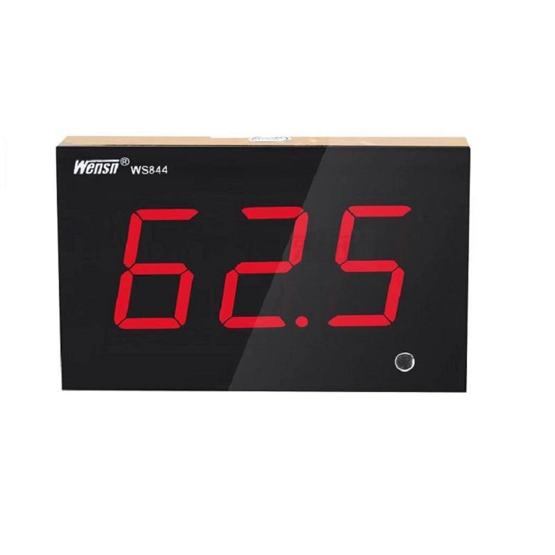 الرقمية عالية الدقة/الحائط بار الأبواب والنوافذ كشف الضوضاء/dB قيمة ديسيبل متر صوت عال WS844