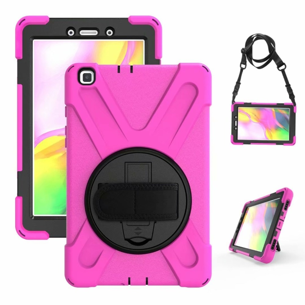 For Samsung Galaxy Tab A 8.0 2019 T290 T295 SM-T290 T297 Case Cover Heavy Duty Shockproof Rugged Hybrid Protective Case for Kids