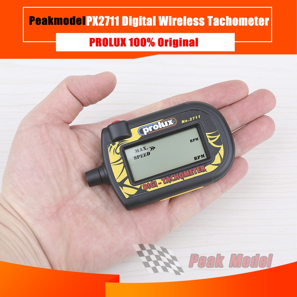 Prolux PX2711 model rc cyfrowy obrotomierz bezprzewodowy