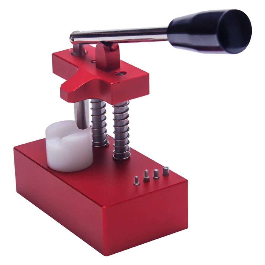 Reloj duradero, herramienta de tubo de corona para quitar la pulsación del reloj, reparación de relojes de tubo