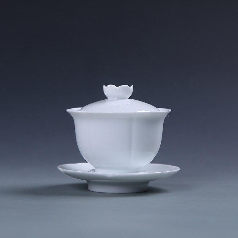 شادو سيلادون-طقم شاي ، فنجان شاي ، سيراميك ، صناعة يدوية ، ثلاث طبقات ، حجم كبير ، سيراميك ، أقحوان