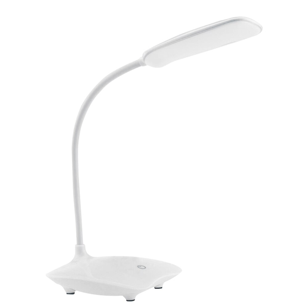 Lámpara LED de escritorio plegable y regulable, Lámpara de Mesa táctil cc 5V, luz de mesa alimentada por USB, luz nocturna de 6000K, lámpara portátil de atenuación táctil