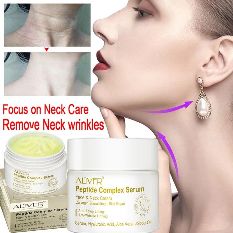 30g peptide cream collagen anti-wrinkle whitening cream moisturizing repair collagen anti-aging nourishing skin care недорого