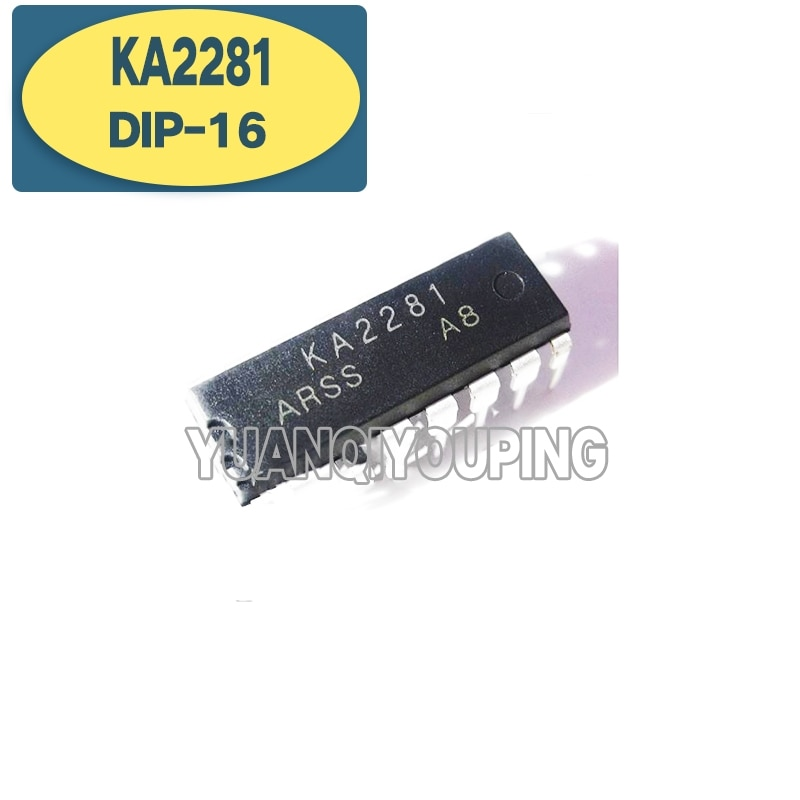 10PCS KA2281 DIP DIP16 2281 DIP-16