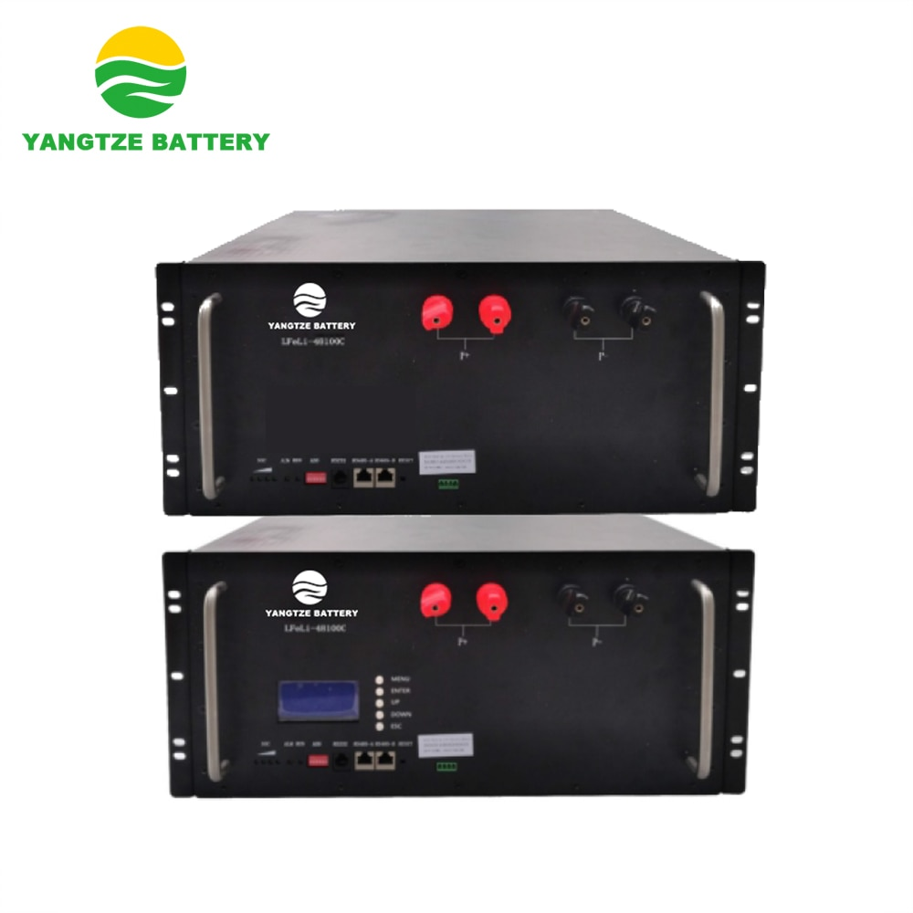 Yangtze solar preço barato 48v 100ah bateria de armazenamento li-lion lifepo4 bateria