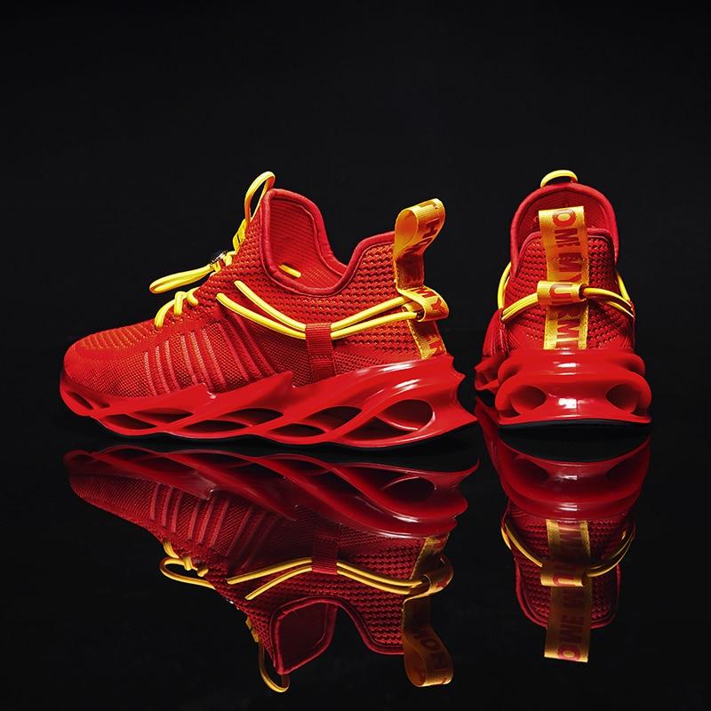 Fashion New Trend Blade Running Shoes For Men Man Sneakers Sports Walking Shoe Masculino Adulto Zapatillas Zapatos De Hombre