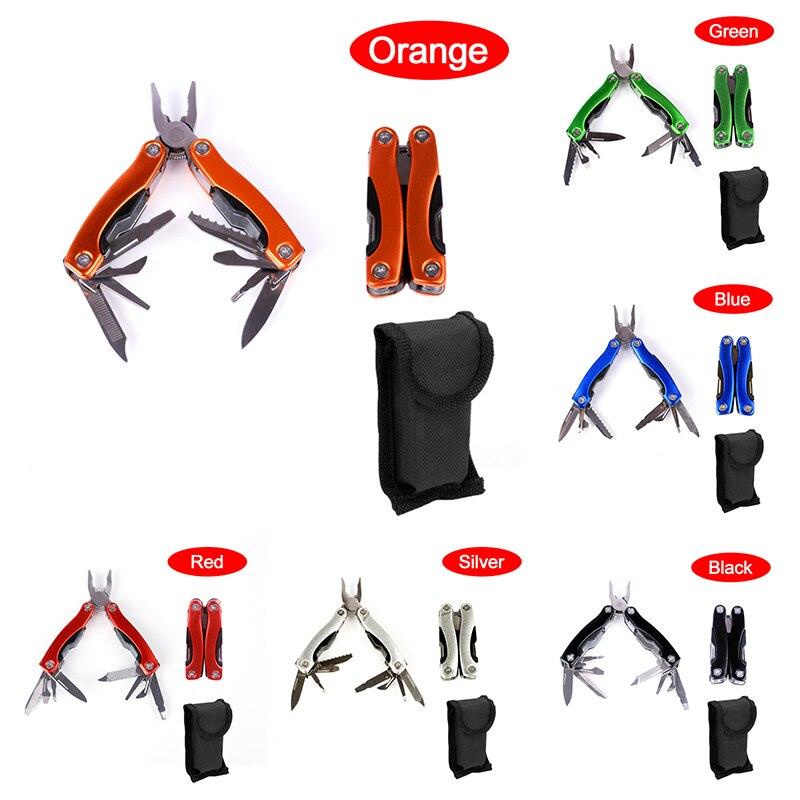 Многофункциональные плоскогубцы, инструмент, плоскогубцы для кемпинга на природе, альпинизма, Складные портативные комбинированные плоскогубцы, нож