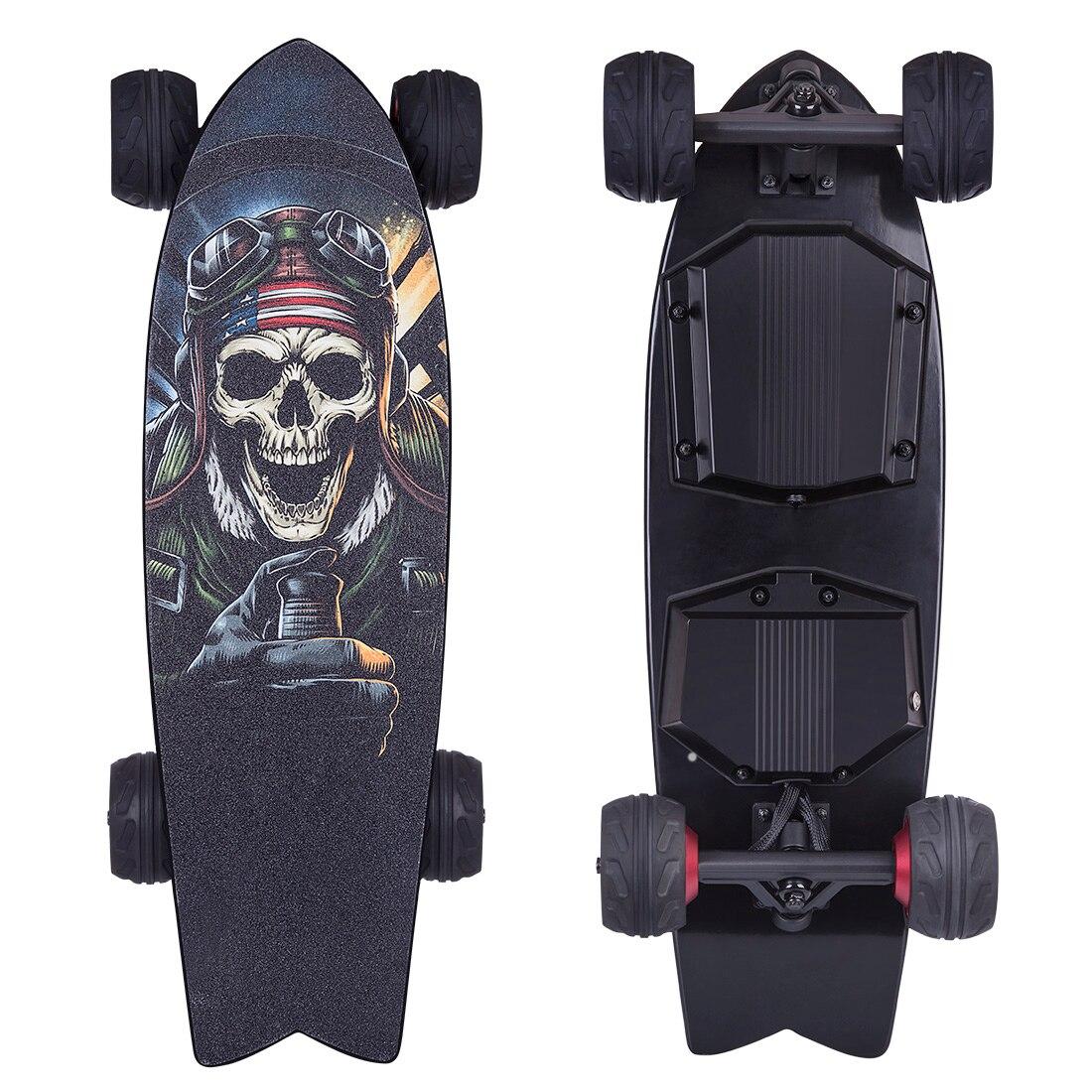 BRT03 4-Wheel Electric Skateboard Outdoor Speed Electric Scooter Frosted Board Skateboard