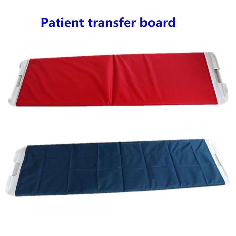 المنزل استخدام سرير طبي محمول نقل المريض المجلس سهلة لتغيير السرير للمريض