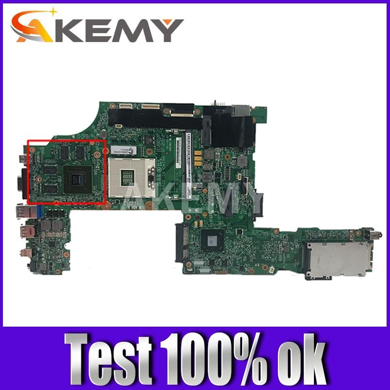 04X1491 04X1495 04X1497 04X1501 04Y1860 04W6824 اللوحة لينوفو ثينك باد T530 T530i اللوحة DDR3 مع N13P-NS1-A1 GPU