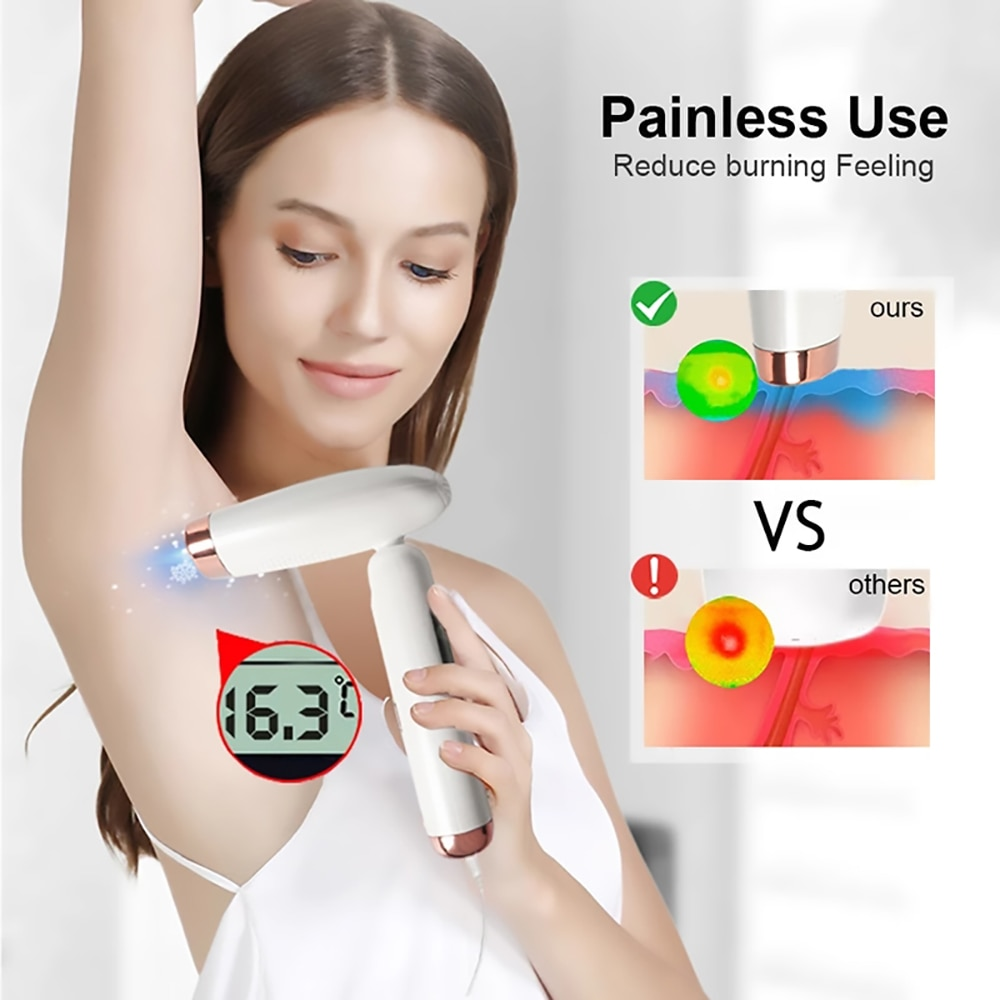 MAXFRESH Laser Hair Removal Device Professional IPL Portable Painless Pulsed Light Depilator 990000 Flashes Epilator  For Women enlarge