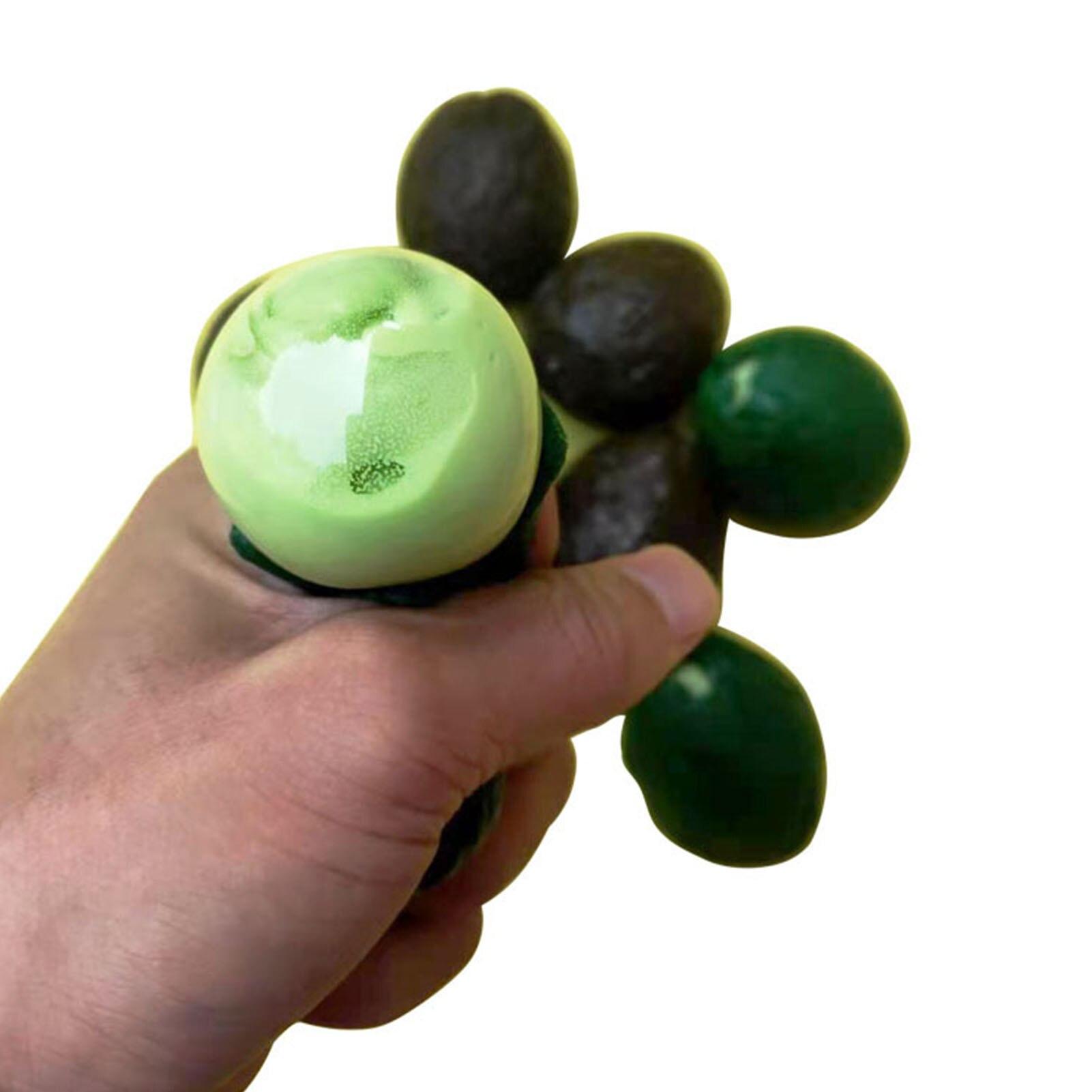 Decompression Pinch Music TPRStrange New Toy Pinch Music Tpr Avocado Decompression Vent Flour Ball Stress Relief Decoration enlarge
