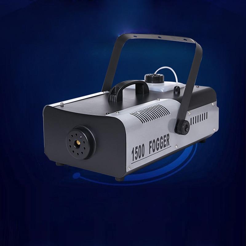 1500W Thermostatic Smoke Machine Stage fog machine with  Remote and Wire Control 110V 220V DJ Disco Club music concert fogger