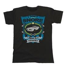 Herren Car T-Shirt - I don`t snore I dream I`m a CONVERTIBLE Pontiac Firebird 19