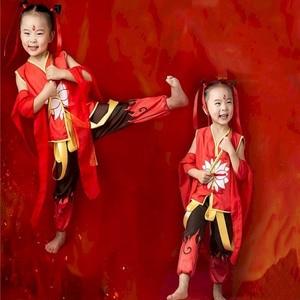 Nezha Suit Halloween Costumes For Women Cosplay Anime Merch Nezha's Devil Child Child Advent Clothes Girls Cos Boys Clothing