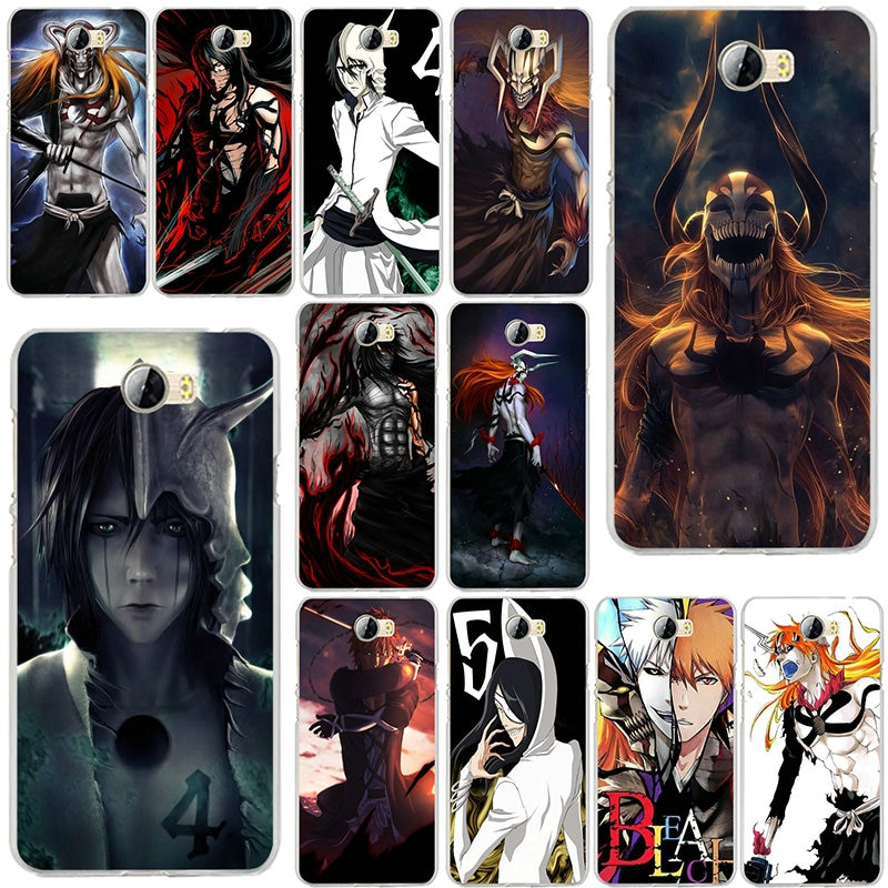 Casos para Huawei P8 P9 P10 Lite Mate 10 Pro Y5 Y6 Y3 II Y7 Honor 6X7 X diseño Ichigo 9 Lite suave silicona TPU bolsa Anime lejía