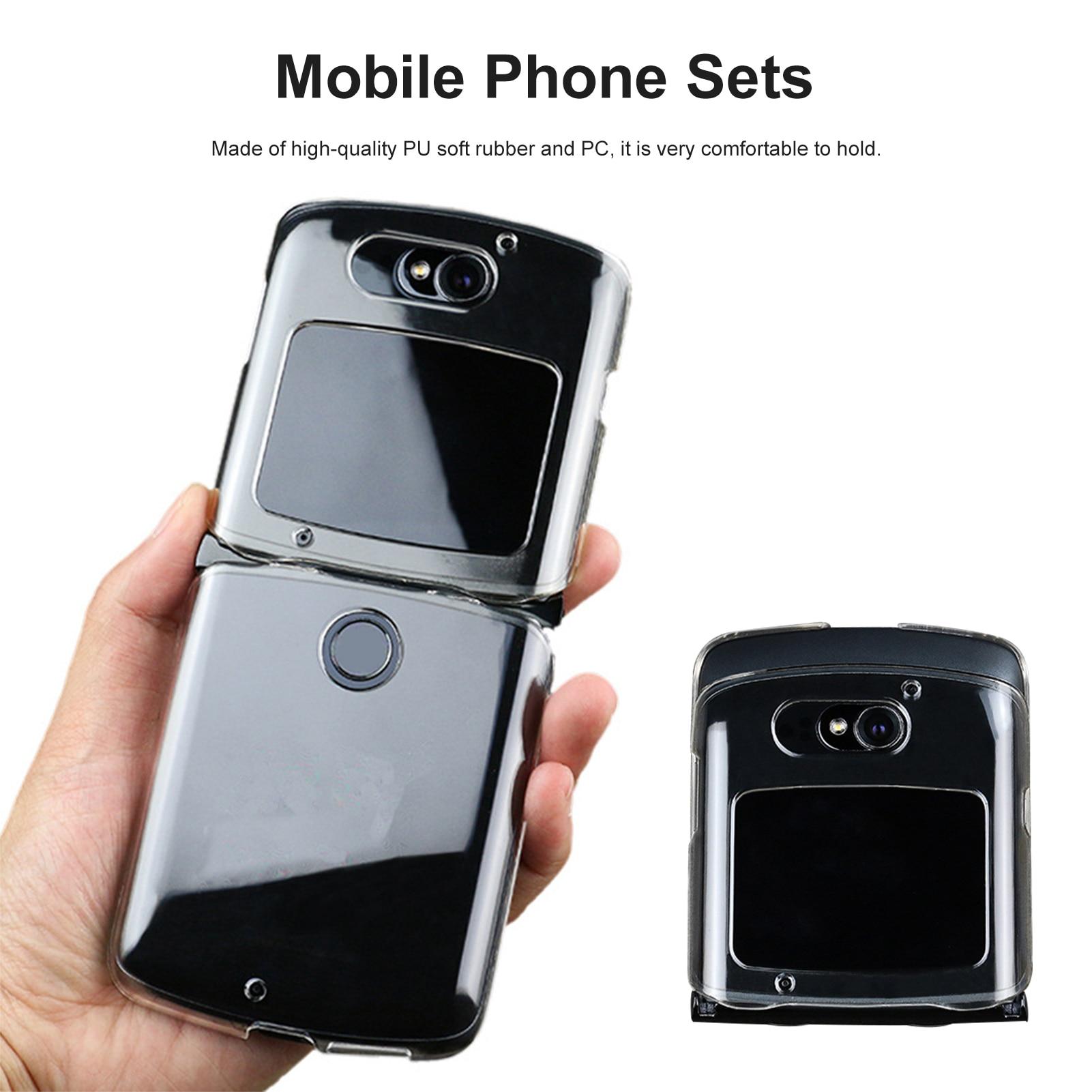 Funda de teléfono de cuero PU Plegable para Motorola, funda de teléfono de alta calidad para Moto Ra'zr 5G, Ra'zr5G, a prueba de golpes