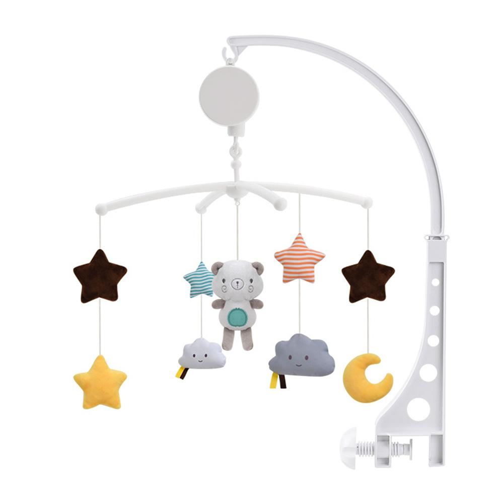 Фото - Baby Crib Mobiles Rattles Music Educational Toy Rotating Bedside Bell Baby Comfort Cloth Toy Hanging Bed Wind Chimes Bell 3 pieces wind chimes feng shui wind bell lucky wind chimes bell vintage dragon and fish feng shui hanging chime for good luck