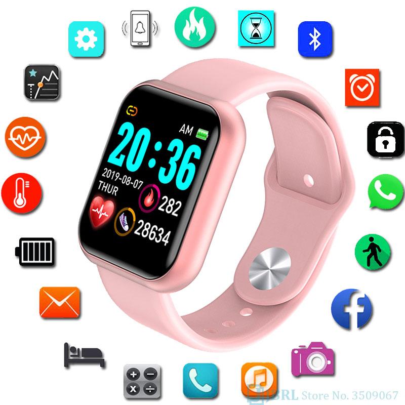 Plaza reloj Digital de las mujeres deporte hombres Relojes LED electrónicos señoras reloj de pulsera para hombres y mujeres reloj de mujer reloj horas