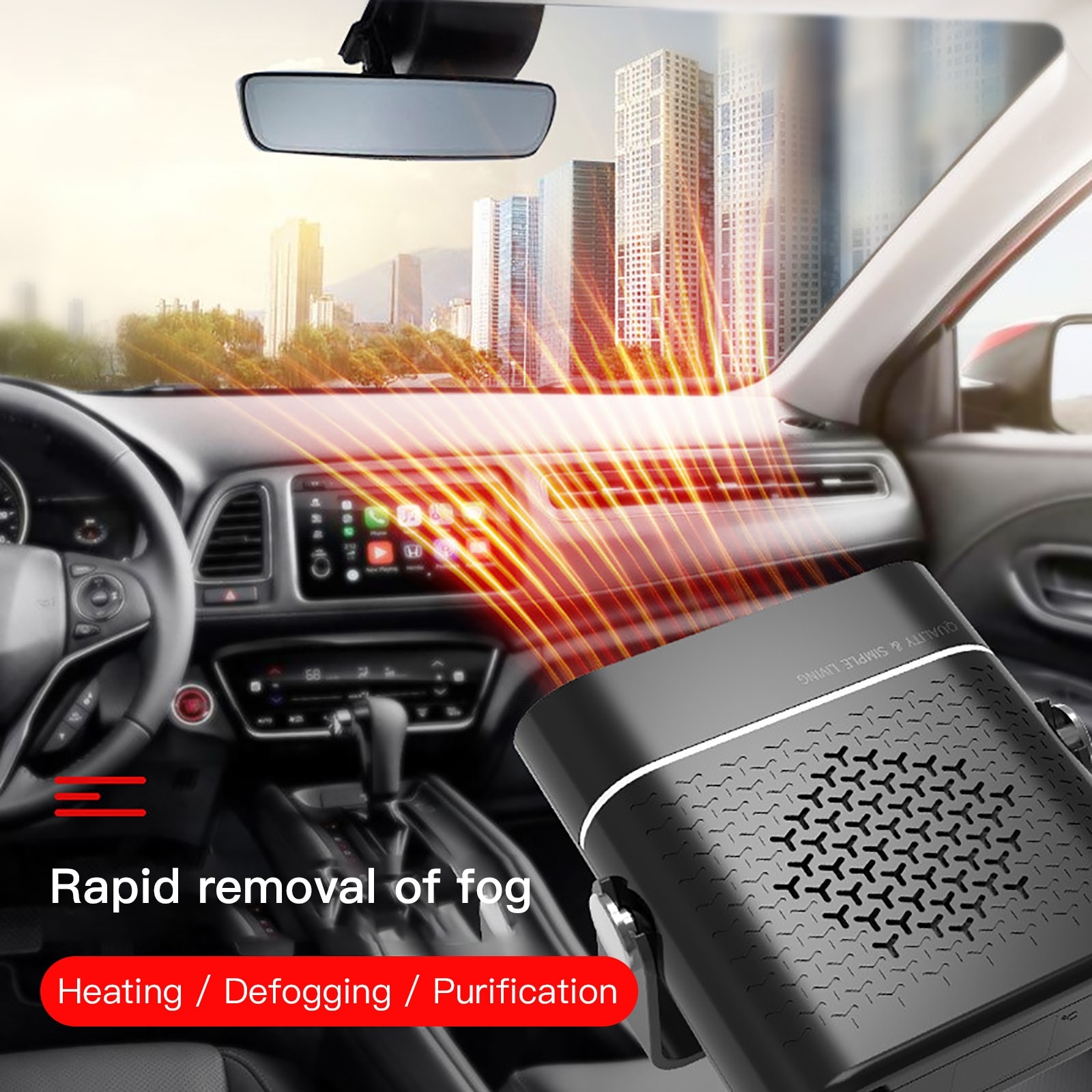 12v 24v Car Heater Diesels Fuel Winter Window Warm Defroster Deicing Universal Rv Boat Truck Trailer Auto Interior Heater Supply