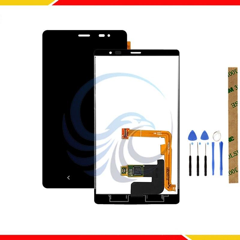4,3 pulgadas de pantalla táctil para NOKIA X2 Dual RM-1013 RM-1014 X2DS pantalla LCD con montaje de pantalla táctil