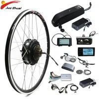 electric bike conversion kit 36v 500w350w250w with battery rear hub motor wheel 202426700c ebike kit mtb road bicycle kit