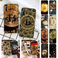 i love accept bitcoin phone case for huawei honor 7a 7c 8 8x 9 10 20lite fundas coque bumper for honor 10i 20i capa