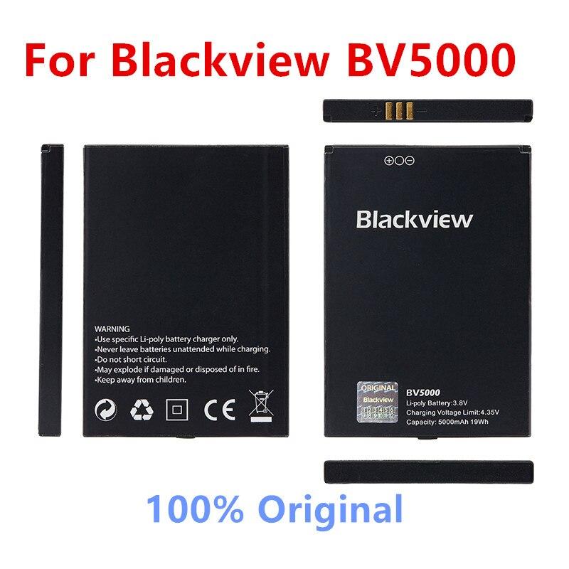 100% Original Backup Blackview BV5000 5000mAh Battery For Blackview BV5000 BV5000 Pro Smart Mobile Phone+Tracking Number недорого