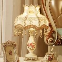 nordic style led table lamps for bedroom bedside decoration living room table lights wedding lighting fixtures cute desk light