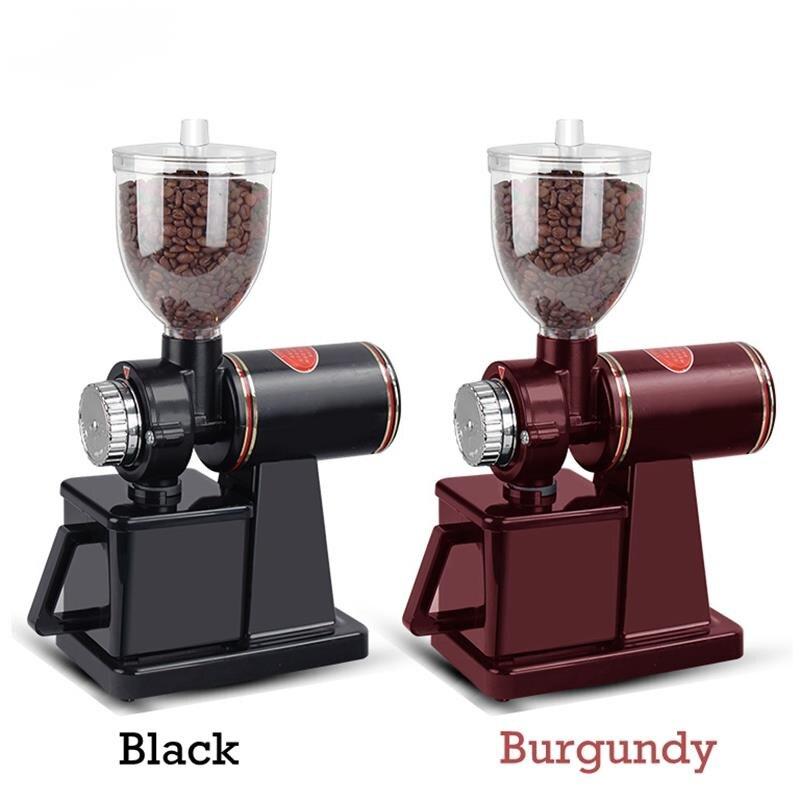 Electric Coffee Grinder Burr Grinding Machine Grinder, Bean Grinder, Flat