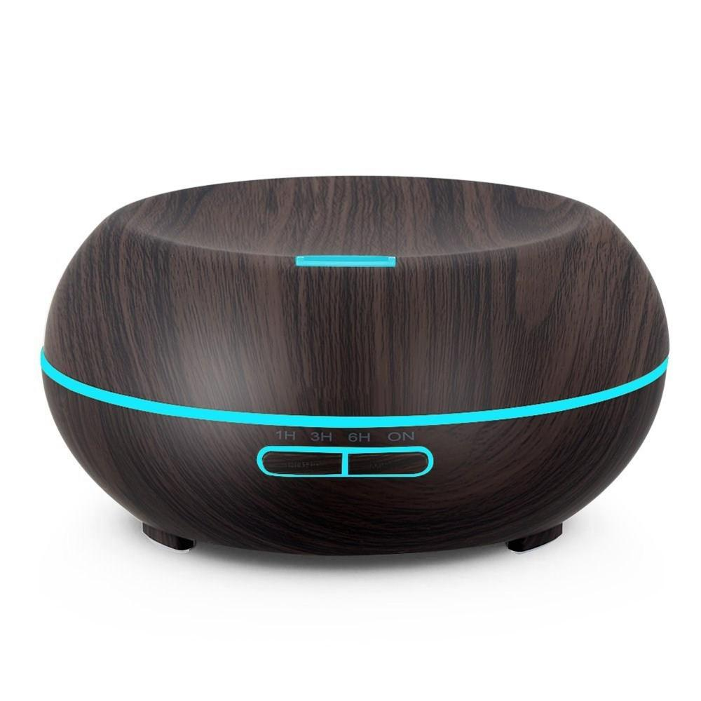 Household Portable 300 ML Black Wood Grain Cool-Mist Ultrasonic Aromatherapy Essential Oil Diffuser Chern Aroma Humidifier cyril chern chern on dispute boards