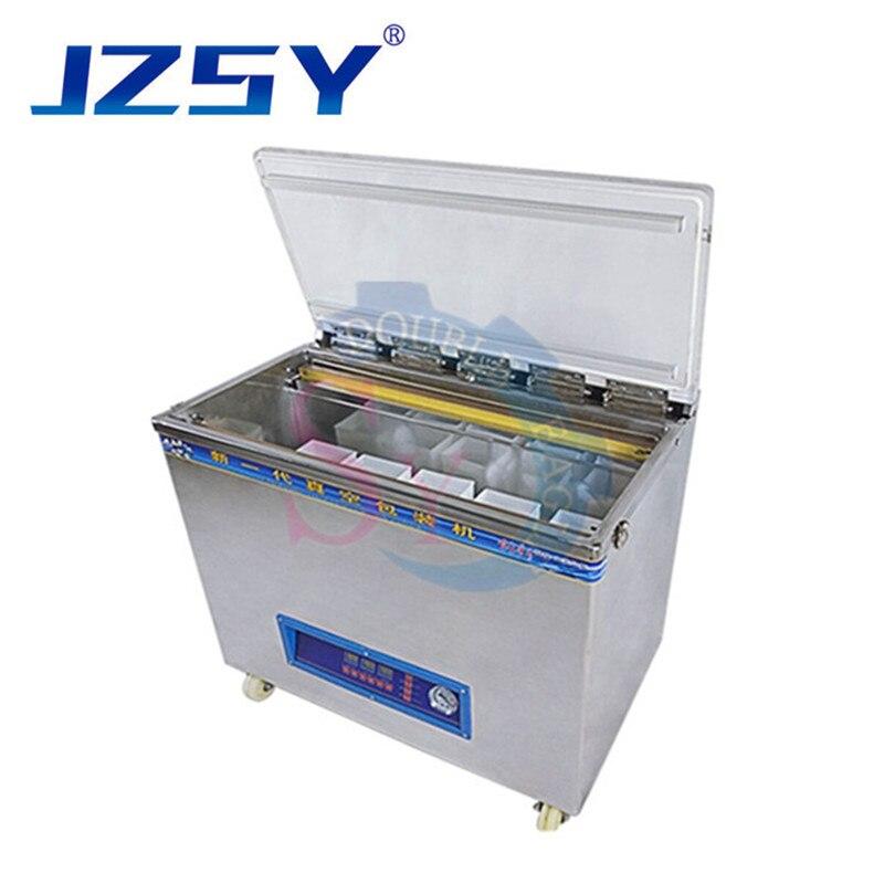 De alta potencia comercial de vacío automática de arroz/comida de mar/Pescado seco estándar cámara de embalaje de la máquina de sellado comida almuerzo sellador