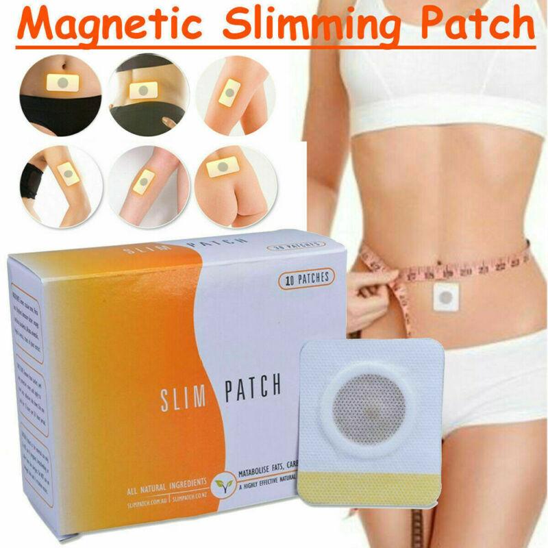 Parche delgado de 10/50 para pérdida de peso, quemar grasas, dieta, almohadilla adelgazante de acción rápida para mujeres