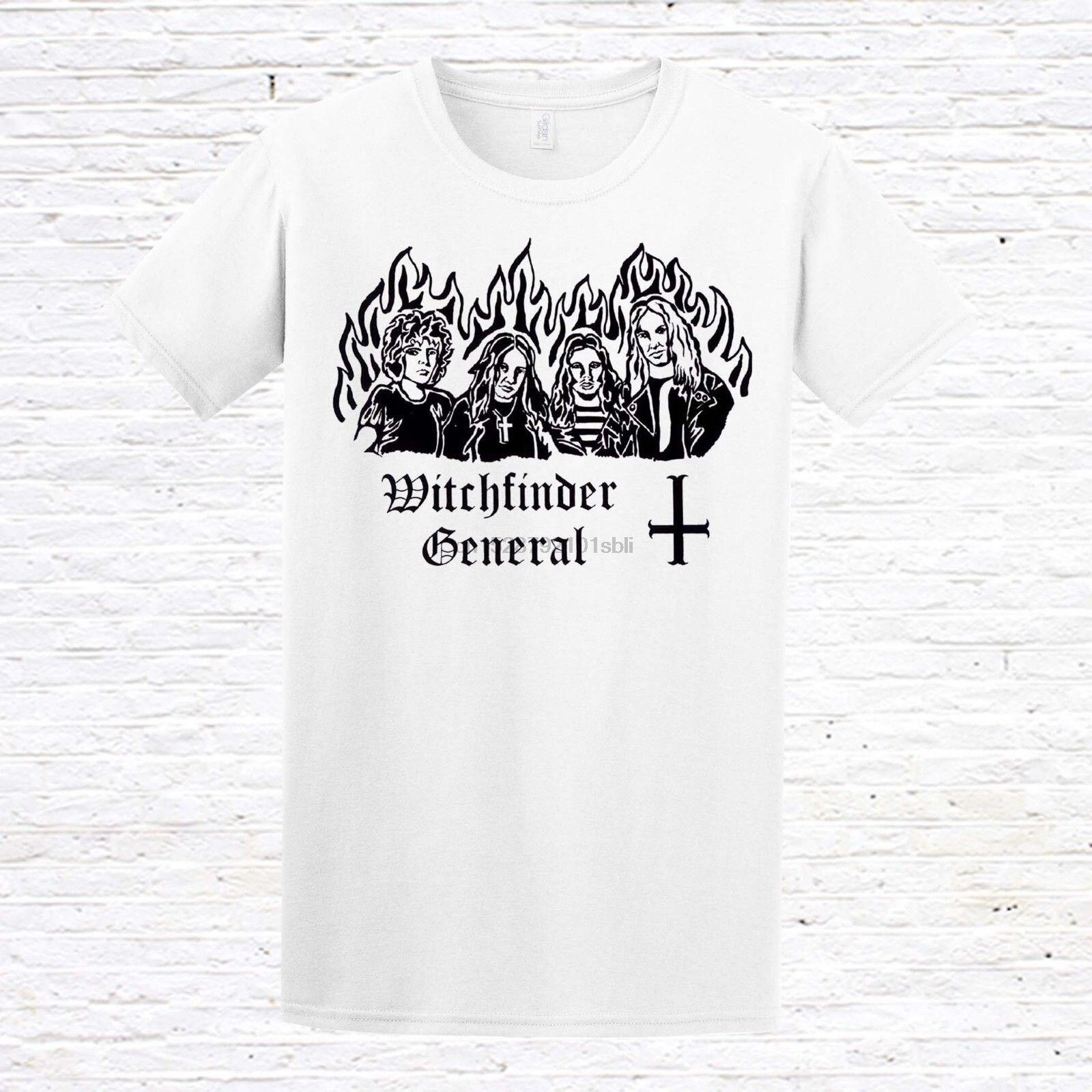 Witchfinder General camiseta (NWOBHM Doom Metal)