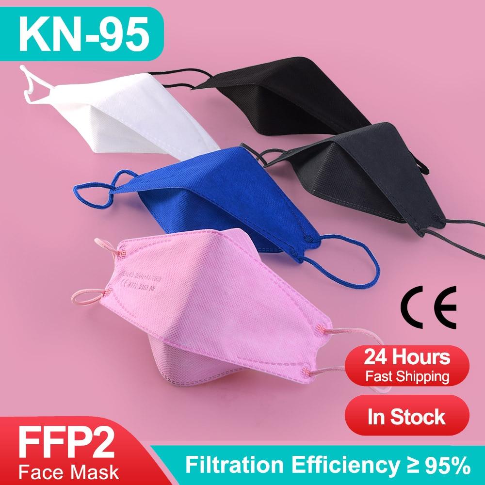 Mascarilla de 4 capas con filtro kn95 FPP2, máscara de pescado FFP2,...