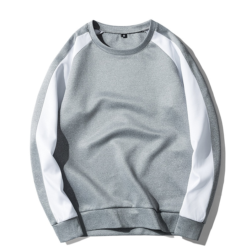 2018 hombres sólido Sweatershirt hombres algodón nuevo chicos Harajuku Thin sweatershirt