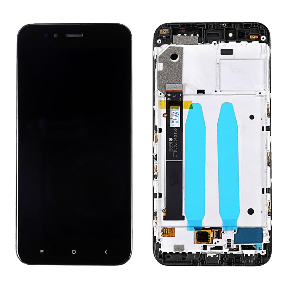 Para Xiaomi Mi A1 pantalla LCD + marco para Xiaomi Mi 5X LCD digitalizador pantalla táctil Panel Replacement