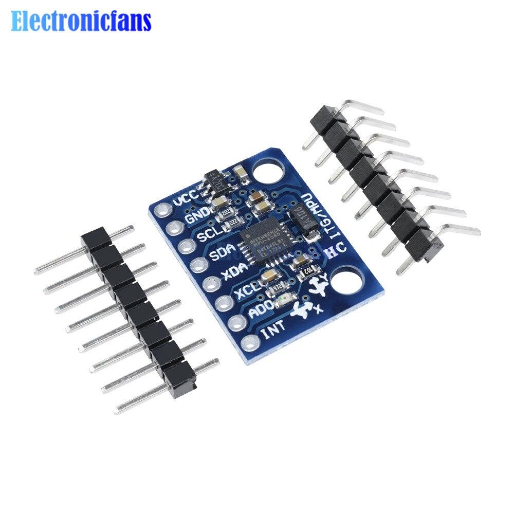1 Набор IIC I2C GY-521 MPU-6050 MPU6050 3-осевой анало