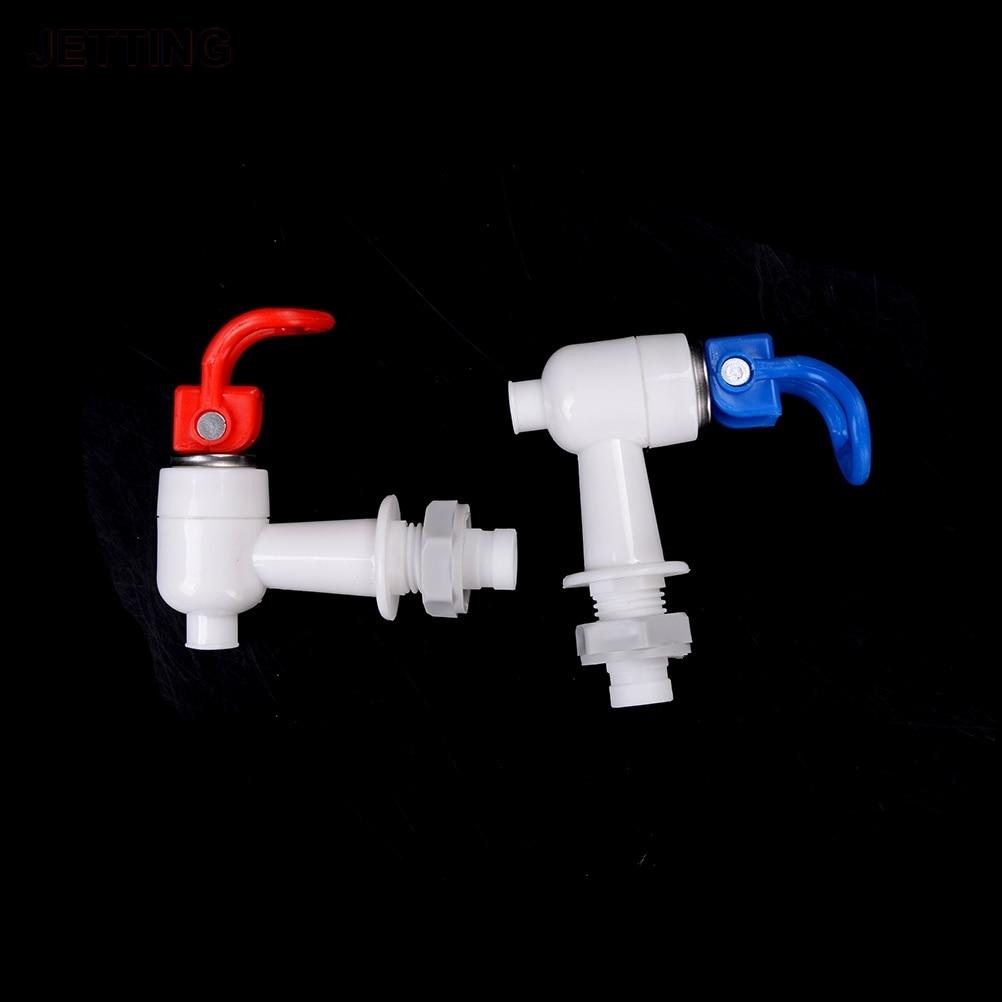 Dispenser Spigot Tap 15mm Thread Dia Plastic Bottled Water Valve Faucet Blue White Black Replace Drinking Fountains Parts
